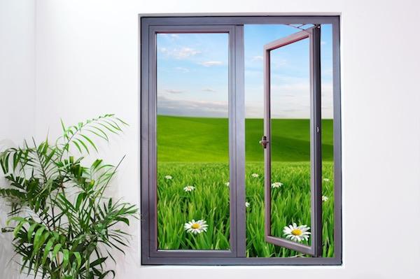 Cửa sổ mở quay Topal Slima